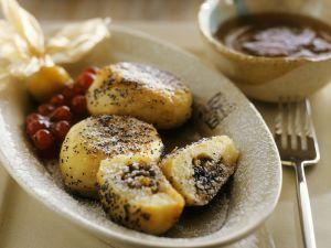 Poppy Seed Dumplings with Apricot Filling recipe