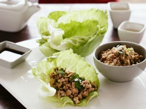 Pork Lettuce Cups recipe