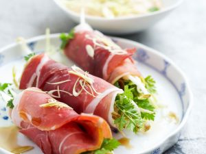 Pork Salad Rolls recipe