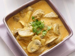 Pork Stew with Mushrooms recipe