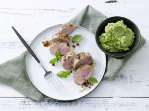 Pork with Romanesco Puree recipe