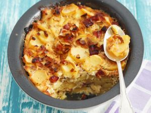 Potato and Bacon Savoury Gratin recipe
