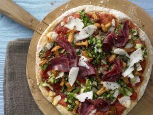 Potato-Chanterelle Pizza recipe