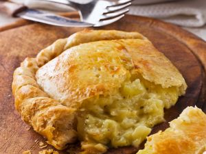 Potato Puff Pastry Pies recipe