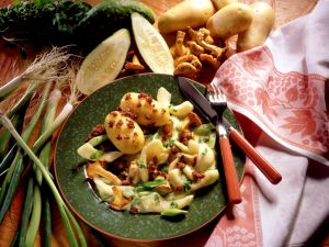 Potatoes with Braised Vegetables recipe