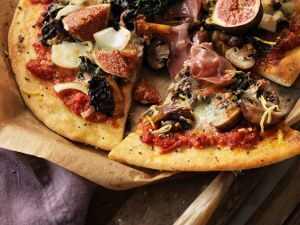 Prosciutto and Fig Pizza recipe