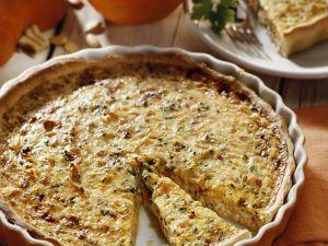 Pumpkin Quiche recipe