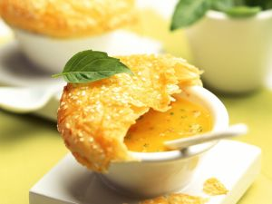 Pumpkin Soup with Puff Pastry recipe