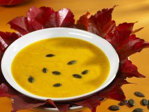 Pumpkin Soup with Pumpkin Seeds recipe