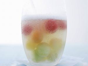 Punch with Melon Balls recipe