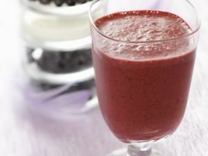 Purple Berry Blended Drink recipe