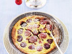 Quark Pudding with Cherries recipe