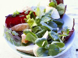 Rabbit Fillet with Lettuce recipe