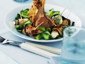 Rack of Lamb with Vegetables recipe