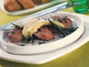 Raclette with Marinated Lamb recipe