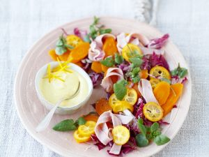 Radicchio with Carrots and Kumquats recipe