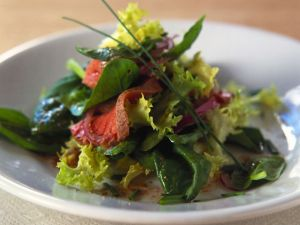 Rare Roast Beef Salad recipe