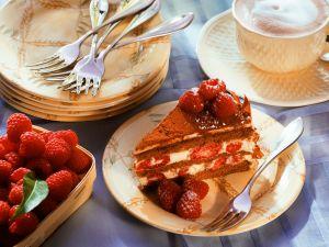 Raspberry Mascarpone Cake recipe
