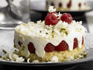 Raspberry-Yogurt Cakes recipe