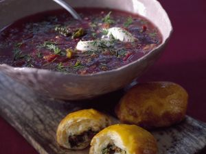 Red Cabbage Soup recipe