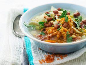 Red Lentil Vegetable Soup recipe