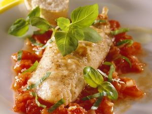 Red Mullet with Tomato Sauce recipe