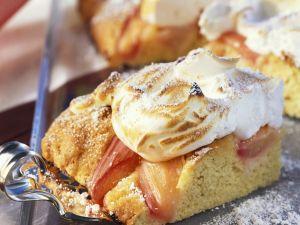 Rhubarb Pie with Meringue recipe