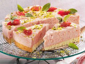 Rhubarb Tart with Cream recipe