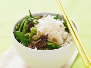 Rice Bowl with Beef recipe