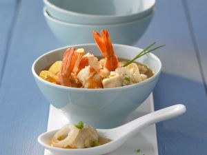 Rice Soup with Shrimp recipe