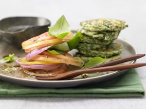 Ricotta and Spinach Fritters recipe
