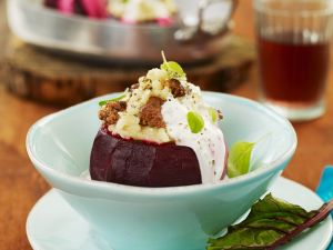 Risotto-Stuffed Beets recipe