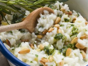 Risotto with Lemon Pesto recipe