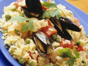Risotto with Seafood recipe