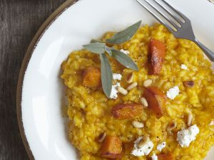 Risotto with Squash, Pine Nuts and Sage recipe