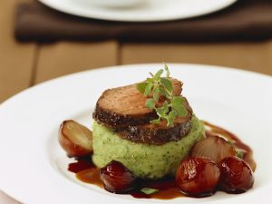 Roast Fillet of Beef with Parsley Potatoes recipe