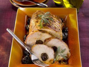 Roast Pork with Prunes recipe