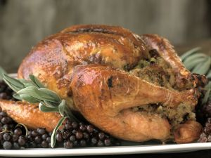 Roast Turkey with Stuffing recipe