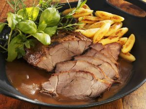 Roast Wild Boar with Gnocchi recipe
