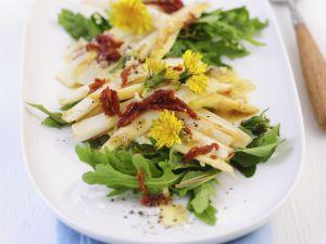 Roasted Asparagus with Arugula recipe