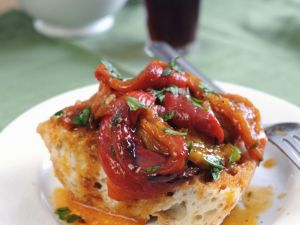 Roasted Italian-style Peppers recipe