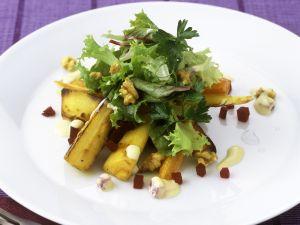 Roasted Parsnip, Endive and Beet Salad recipe