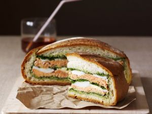Rustic Salmon Sandwich recipe