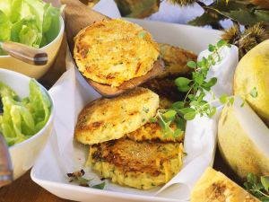 Rutabaga and Potato Patties recipe