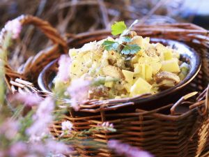 Salad of Pickled Mushrooms recipe