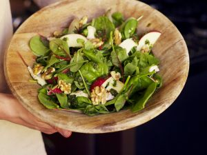 Salad with Apple and Cheese recipe