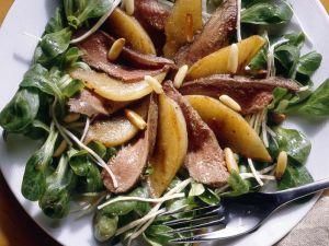 Salad with Rabbit Fillet recipe