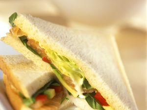 Salmon and Avocado Sandwich recipe