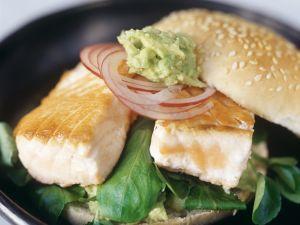 Salmon and Avocado Sandwiches recipe
