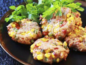 Salmon Fritters recipe
